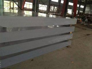 80 mm bezbarwnego grubego panelu z akrylu