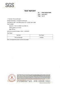 Certyfikat testu SGS EN