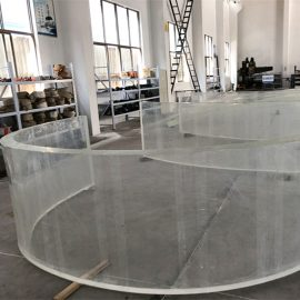 lustro akrylowe zakrzywione arkusz z tworzywa sztucznego do akwariów akwariowych